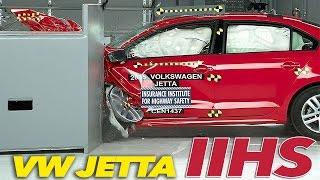 2015 Volkswagen Jetta CRASH TEST IIHS Small Overlap [GOOD]
