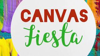 Fun painting classes with Canvas Fiesta ~ www.canvasfiesta.com