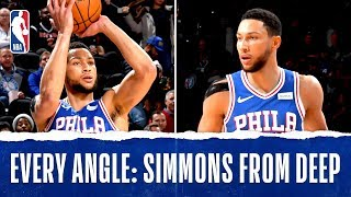 Every Angle: Simmons Buries The Triple!