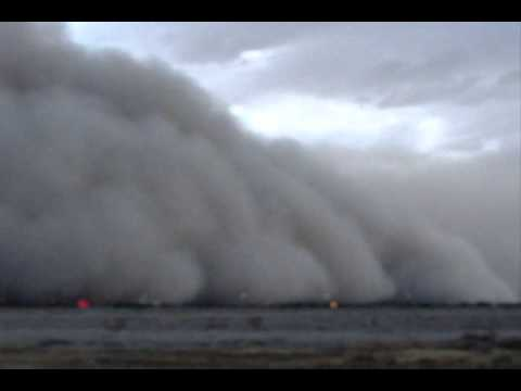 Sand Storm in Phoenix Arizona July 5 2011