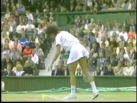 Gabriela Sabatini v Martina Navratilova Wimbledon 1990 pt4