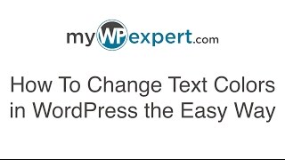 How to Change Text Color in WordPress the Easy Way