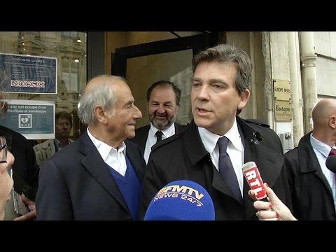 Arnaud Montebourg: de la Fête de la rose à la démission