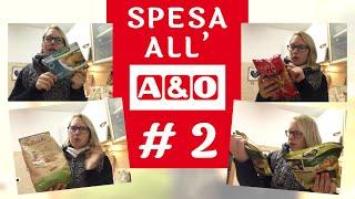 SPESA Mista A&O #2   Ho pagato 0,62 cent!