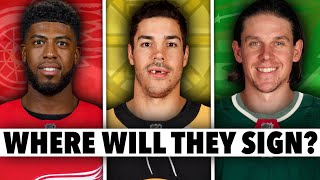 The 10 BEST NHL UFA39S Remaining And Where They Should Sign