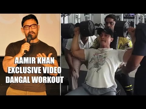 Aamir Khan DANGAL Workout Video Leaked !! thumbnail
