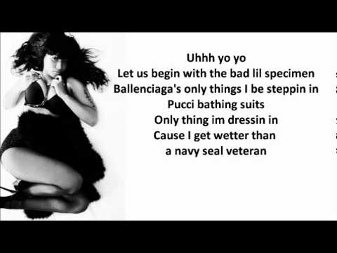 Nicki Minaj - Fuck da bullshit LYRICS