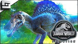 Jurassic World Evolution! Spinosaurus on Isla Sorna!