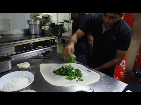 Roti Canai - Authentic Malaysian Street Food from Singapore at