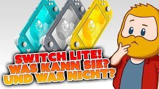 SWITCH LITE ENTHÜLLT! Doch was kann sie? | Meine Meinung