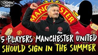 5 Players Solskjaer's Manchester United Should Sign in the Summer…
