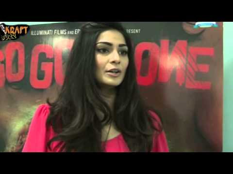 "Hot Puja Gupta At ""Go Goa Gone"" interview"