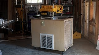 How To Build An Air Cleaner / Planer Cart