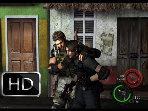 resident evil 5 mod leon kennedy e chris redfield