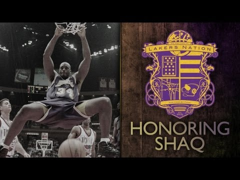 Shaq On Lakers Retiring Jersey: Lakers Memories, Kobe Bryant, Jerry West, Growing Up