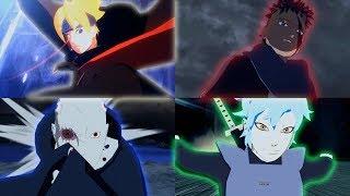 All New Ultimate Jutsu Ougi DLC Mod - Naruto Ninja Storm 4 Road to Boruto PC MOD 1080p 60 FPS