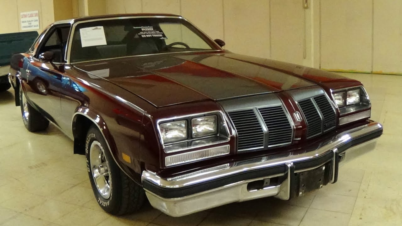 1977 Oldsmobile 442 T Tops 350 V8 Youtube