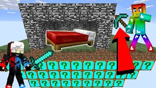 MINI GAME : PLURAL LUCKY BLOCK BEDWARS ** CUỘC CHIẾN BEDWARS VỚI NHỮNG MÓN ĐỒ VIP