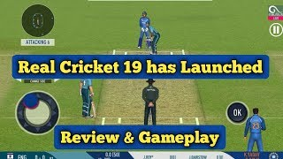 Real Cricket 19 has Launched | Review & Gameplay |