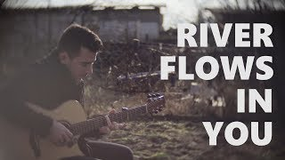 Download Lagu Yiruma - River Flows In You - Fingerstyle Guitar Cover Gratis STAFABAND