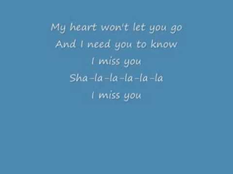 MILEY CYRUS - HANNAH MONTANA - LYRICS for I Miss You (onscreen text) Video
