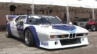 Insanely Loud BMW M1 Procar Onboard on Track!