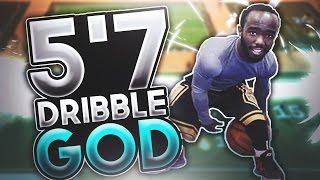 SMALLEST DRIBBLE GOD 5'7 - NBA 2K17 - UNSTOPPABLE
