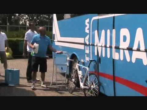 Team Milram Comedy Iachos Tour De France Warm-up In Rotterdam