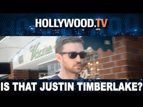 Justin Timberlake Groped, Mistaken For Ryan Phillippe!- Hollywood.TV