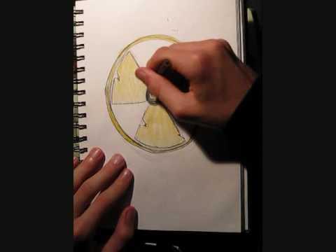 Symbol Drawings Speed Drawing Radiation Symbol