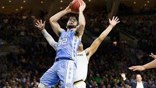 UNC Men's Basketball: Tar Heels Escape Irish in South Bend,  69-68