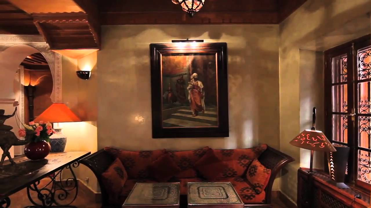 La maison arabe marrakech morocco youtube - Decoration arabe maison ...