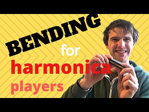 How to bend notes on the harmonica (C harmonica needed)