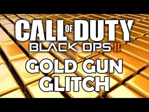 Gold Guns Black Ops 2 Glitch Black Ops 2 Gold Gun Glitch