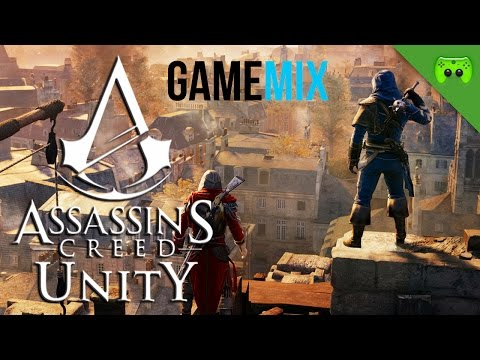 AC UNITY 1/2 - GameMix «»  Let's Play Assassins Creed Unity Coop | Deutsch Full-HD