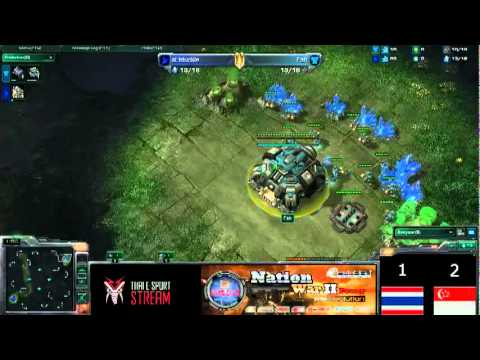 Thailand vs Singapore - SEA Nation War #02 by Neolution [NotyNote]
