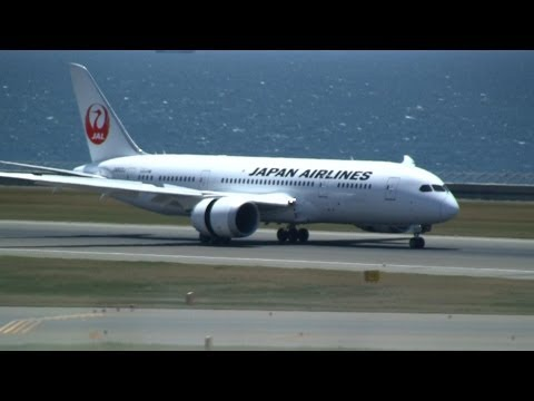 【Test Flight】 JAL Boeing 787-8 Dreamliner JA822J Landing at Nagoya