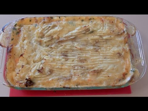 SEAFOOD POTATO PIE – VIDEO RECIPE
