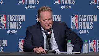 Mike Budenholzer Postgame Interview - Game 3 | Bucks vs Raptors | 2019 NBA Playoffs