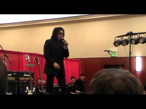 Entire Gene Simmons Q and A 2013 Indy Expo