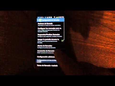 Bloquear llamadas entrantes de números no deseados en Samsung Galaxy S4