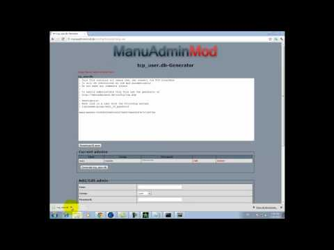 How to configure manu admin mod (installing) with gameranger (COD4)