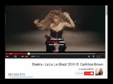 Shakira   La La La Brazil 2014 ft  Carlinhos Brown