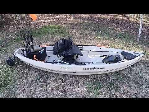 Kayak Bass Fishing: Nucanoe Frontier 12 Setup