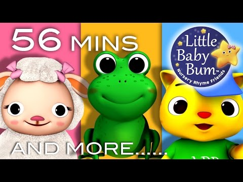 Animal Songs For Children | And More! | Nursery Rhymes | From Littlebabybum video