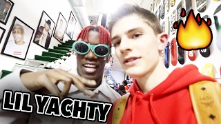I met LIL YACHTY while sneaker shopping!!!