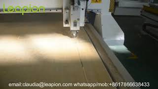 Leapion CNC Router working on Wood MDF