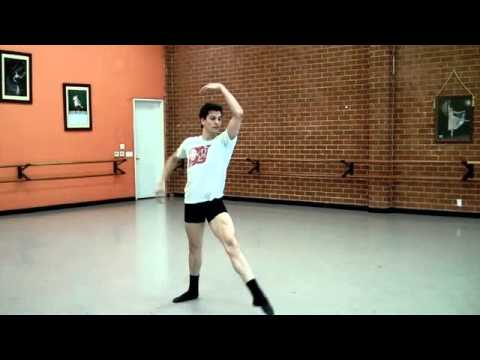 Random Clips of Ballet Dancer Dylan Gutierrez