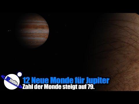 12 Neue Monde für Jupiter - Universe Sandbox²