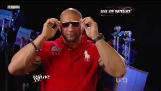 John Cena wants answers from Batista on RAW 02.15.2010 with the promo about what happened